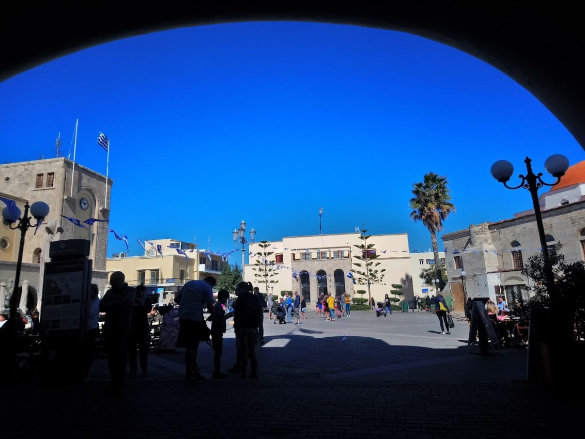 Kos Central Market Square