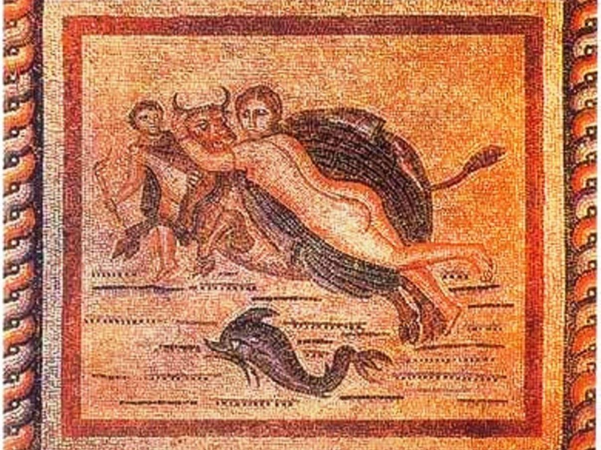 Abduction mosaic of europe